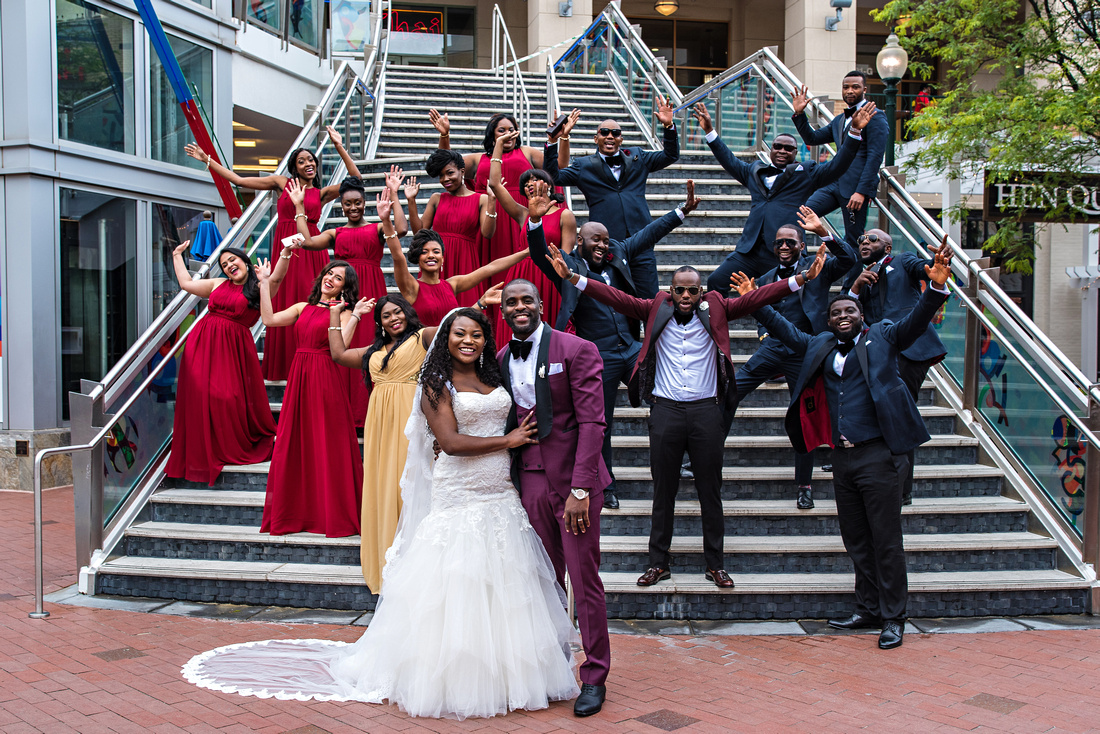 Boston Black Wedding Photographers