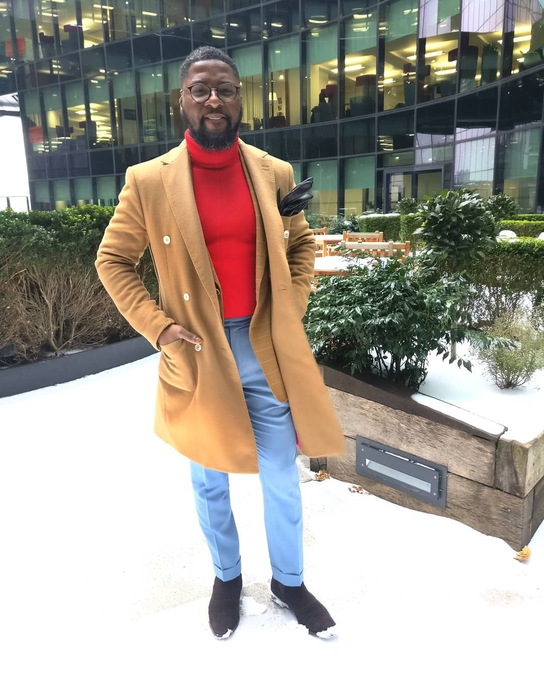Owner of Daniel and Lade Bespoke Wedding Suits London - Daniel Odulaja