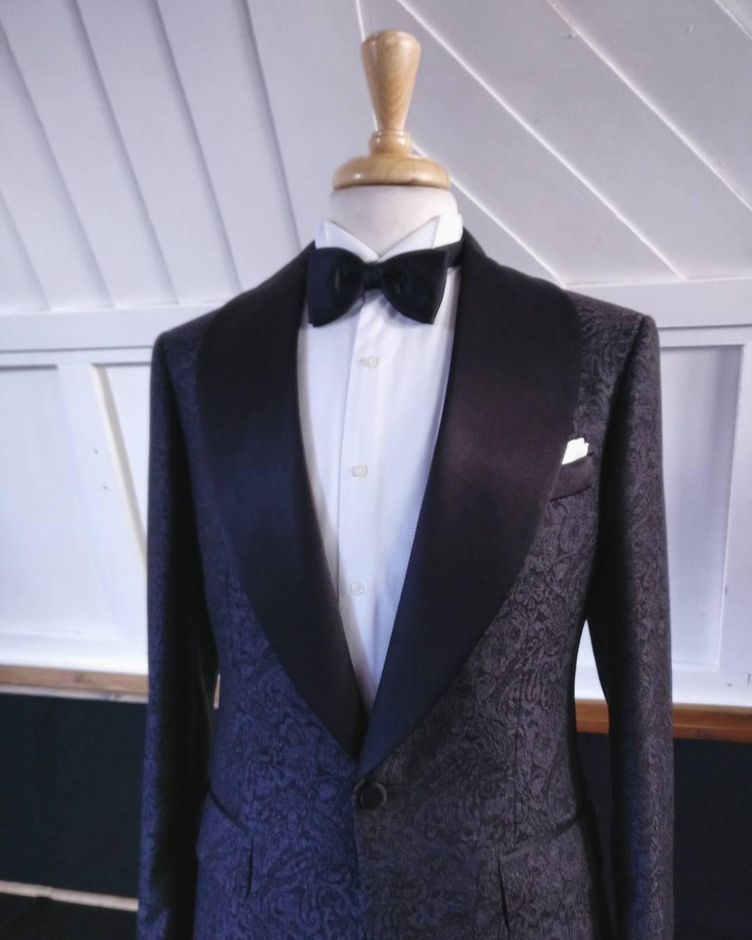 Daniel and Lade Bespoke Wedding Suits London for Black Grooms BestMan and Groomsmen