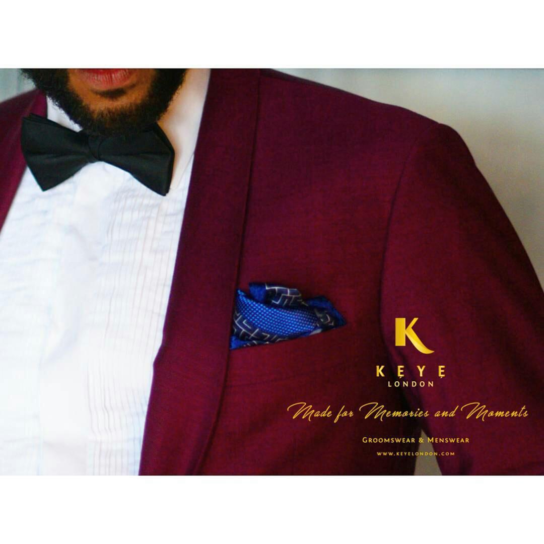 Keye London Bespoke Wedding Suits Menswear UK My Afro CaribbeanWedding