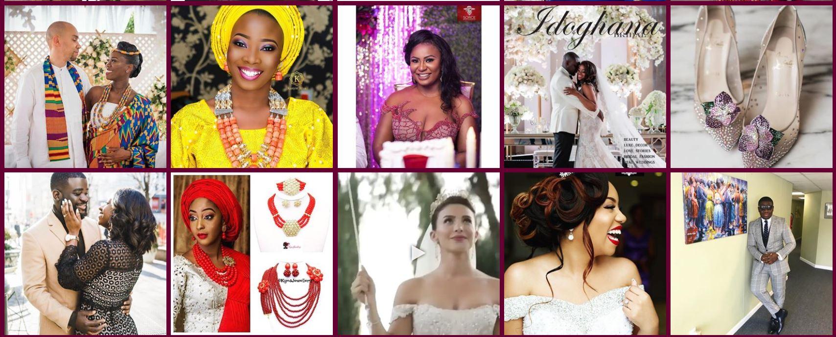 Daily African Caribbean Ghana Nigeria Wedding Inspirations