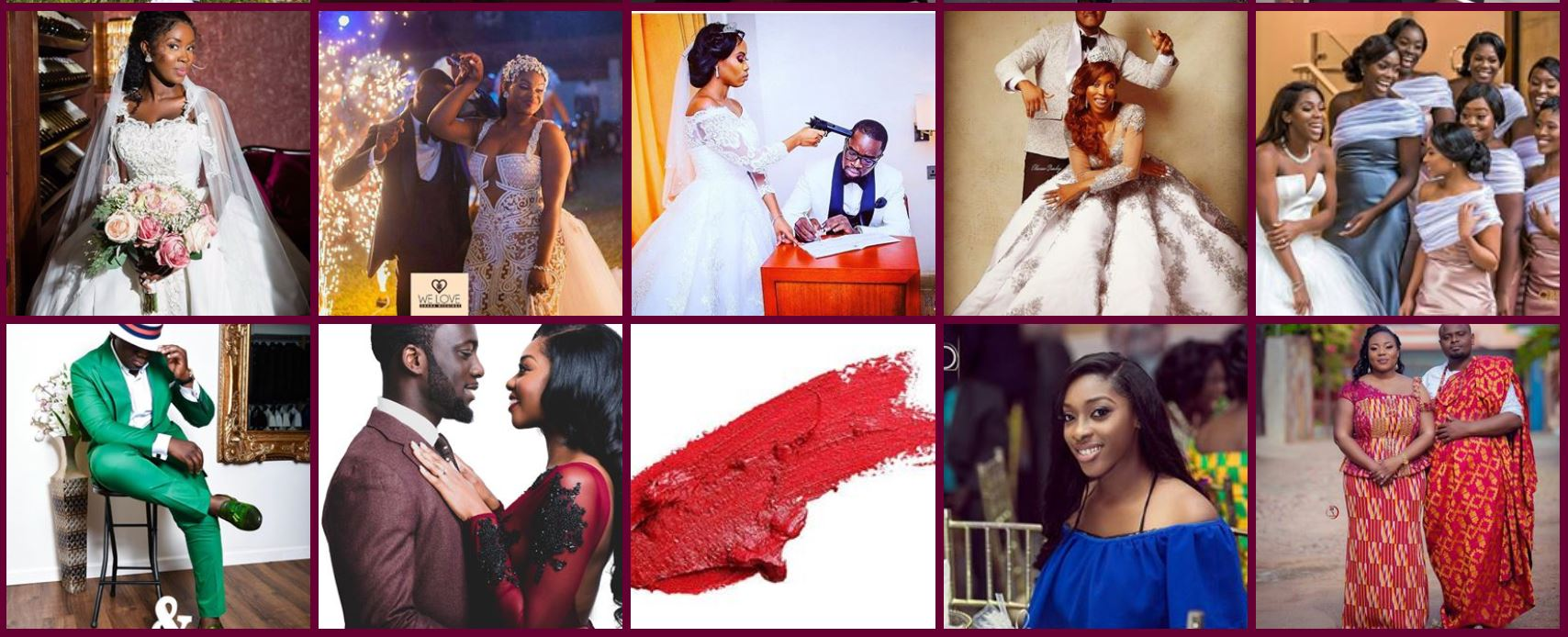 Daily African Caribbean Wedding Inspirations