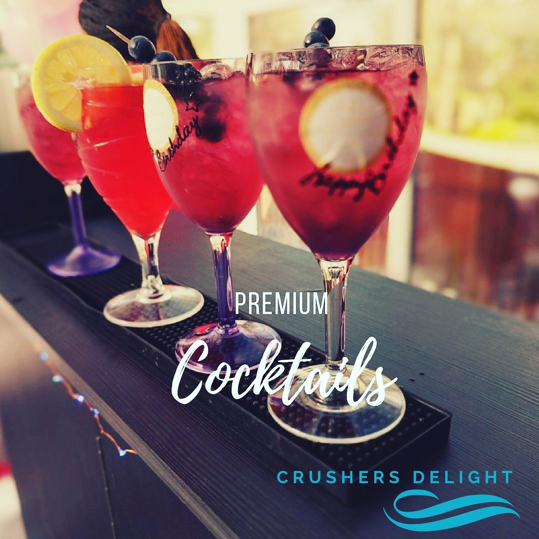 Crushers Delight Wedding Cocktails and Mobile Bar Services London UK