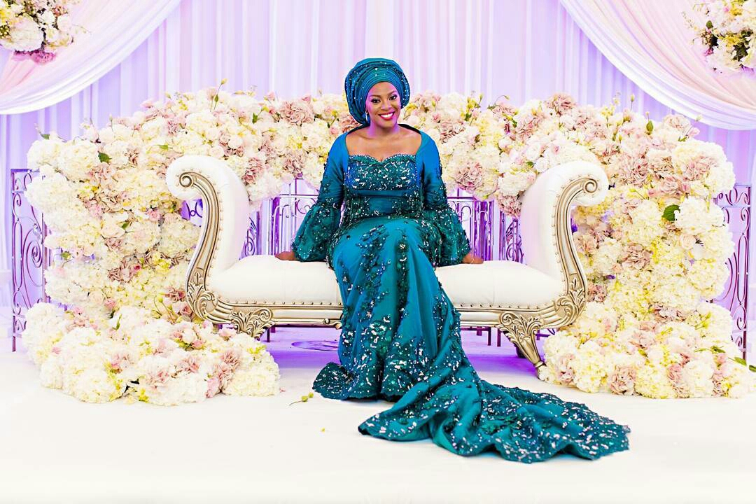 Galia Fahd Wedding Dress Designer Bridal Couture ~ Afro Caribbean