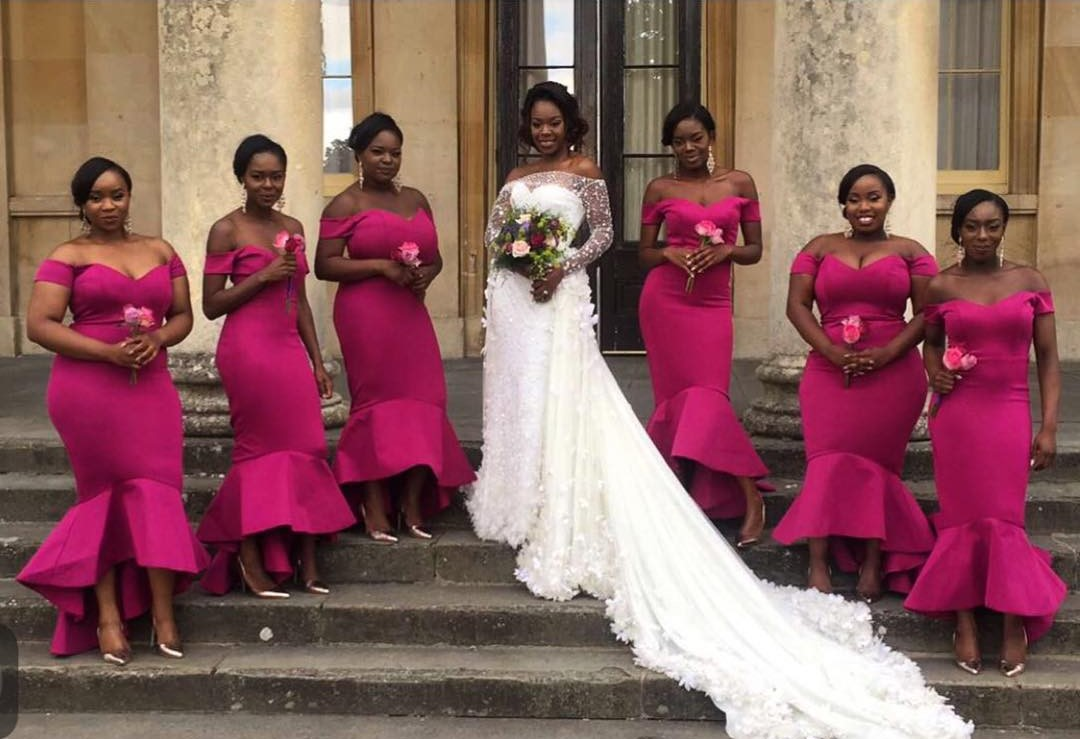 e5587b679cb Alonuko Bridal Wear and Wedding Dress Designer London UK for African  Caribbean Brides