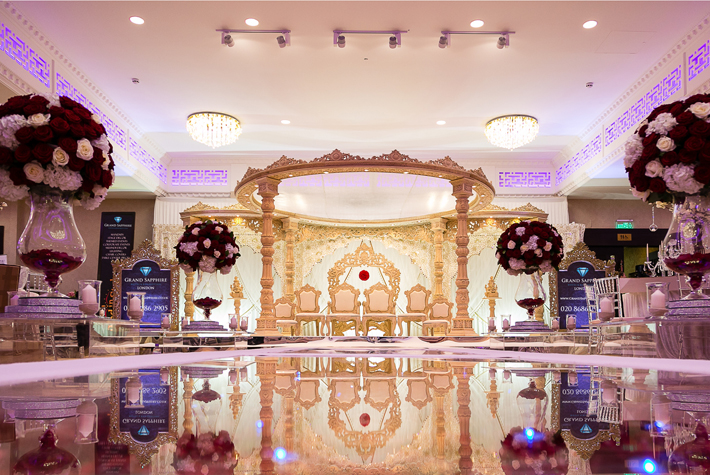 Grand Sapphire African Caribbean Wedding Venue London