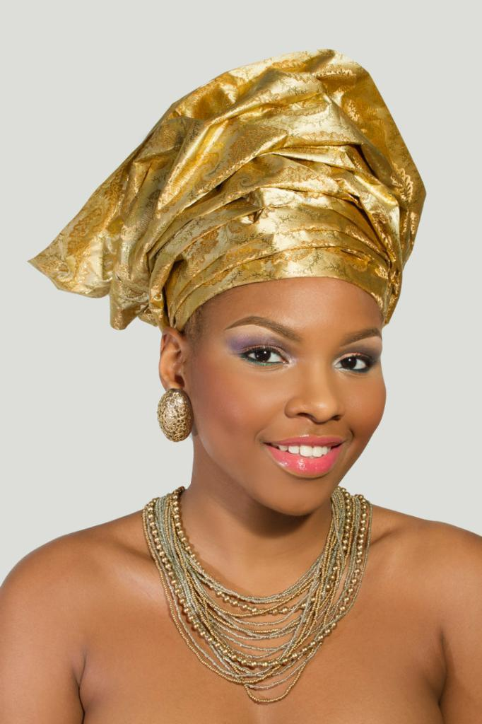 Giselle Makeup Artist Specialising in Black Bridal based in London and Gele