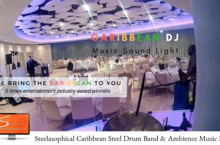 Steelasophical Wedding Caribbean Steelband and DJ Entertainer