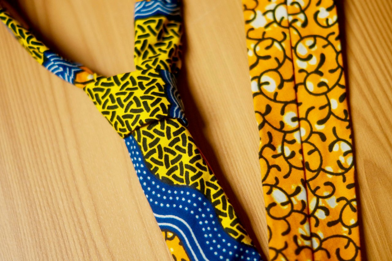 Asikara by Laura Jane African Inspired Wedding Accessories Bow Ties Cravats Headwraps