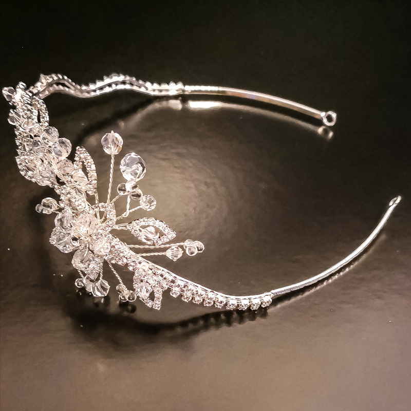 Flourishing Crown Wedding and Bridal Accessories for Natural Hair