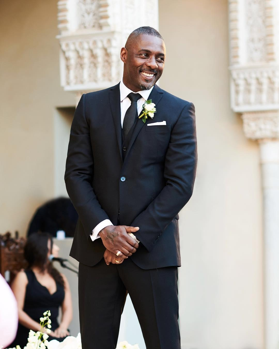 Idris Elba's Wedding to Sabrina Dhowre in Morocco - Wedding Story and Pictures