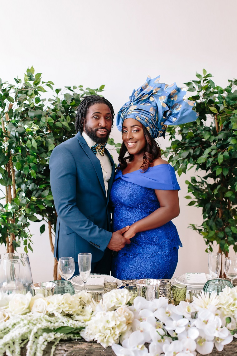 Nigerian African Traditional Wedding Decor Floral Stylist, Ideas and Inspiration