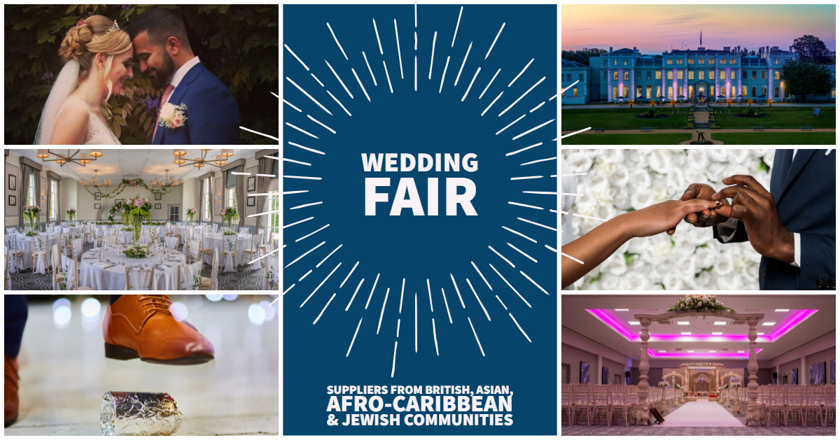 De Vere Wokefield Estate Reading Berkshire Multicultural Wedding Fair - AfroCaribbean Couples