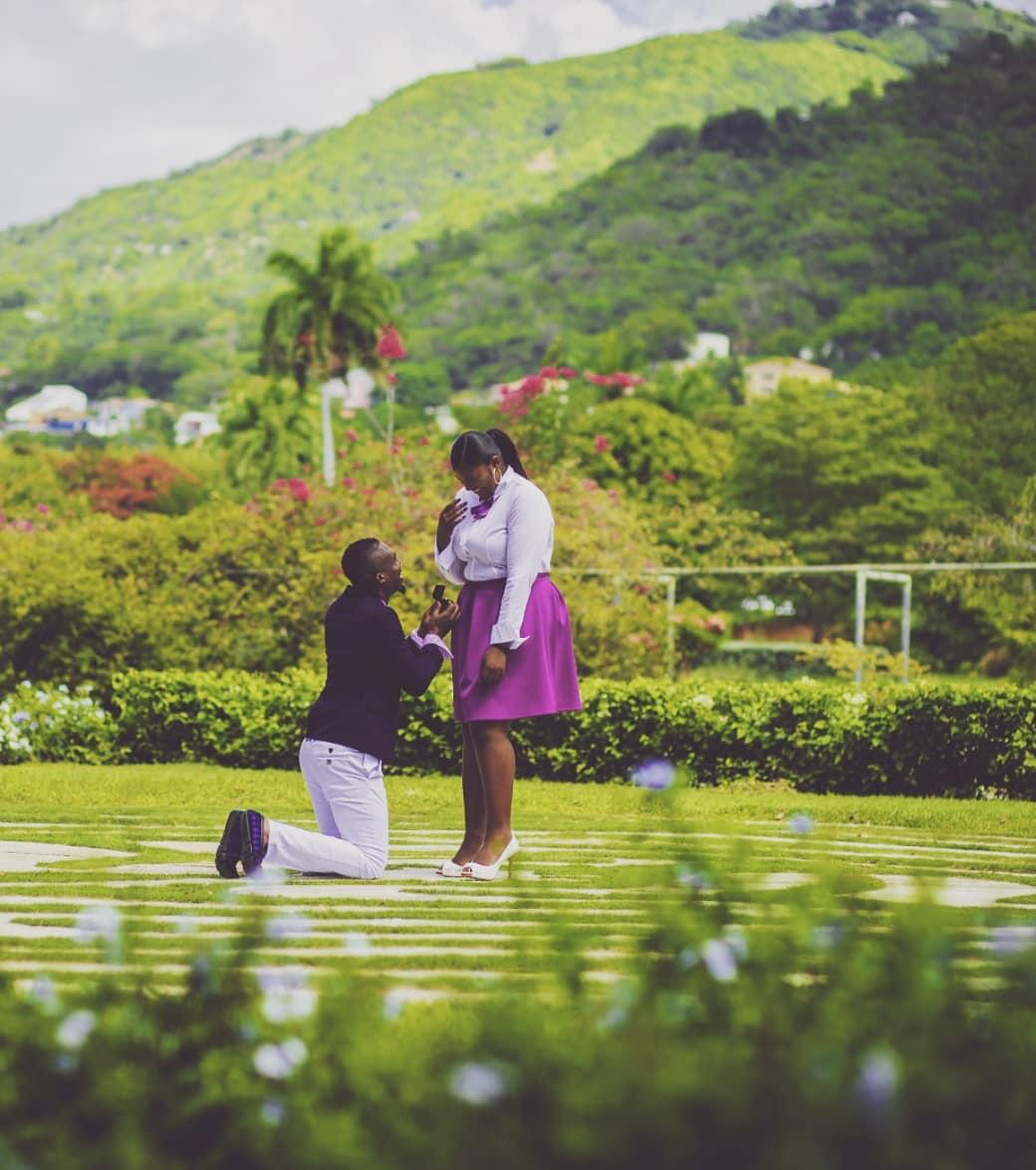 These Afro Caribbean Cute Wedding Proposals and Love Stories Left Us 'Aww-struck' in 2019