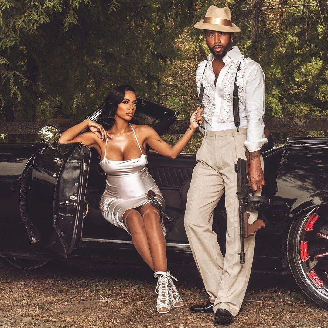 Safaree and Erica Mena's Engagement Maternity Shoot