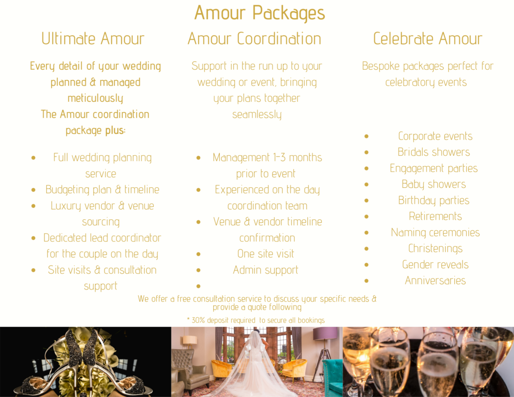 Wedding Packages offered by Jarvis Amour is an Afro Caribbean Luxury Wedding planner, black wedding planner manchester, black wedding planner leeds, black wedding planner yorkshire, black wedding planner merseyside, black wedding planner coventry, black wedding planner leicester, black wedding planner lancashire, black wedding planner caribbean wedding planner, african wedding planner across the UK