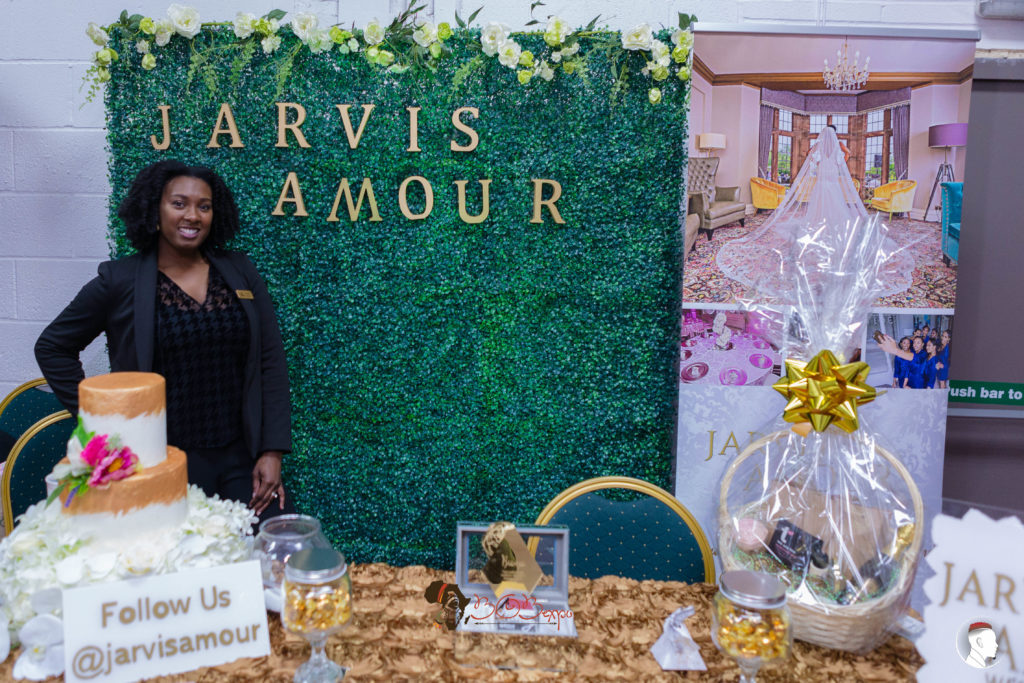Bianca Jarvis, Owner of Jarvis Amour Black Luxury Wedding Planner Manchester