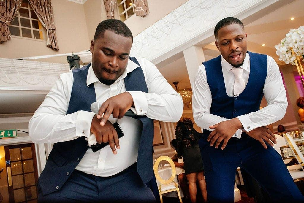 David Agyemang Black African Wedding Master Of Ceremony London