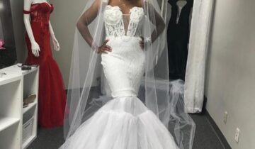 Viviane Valerius Black Bridal Wear Fashion Designer Florida