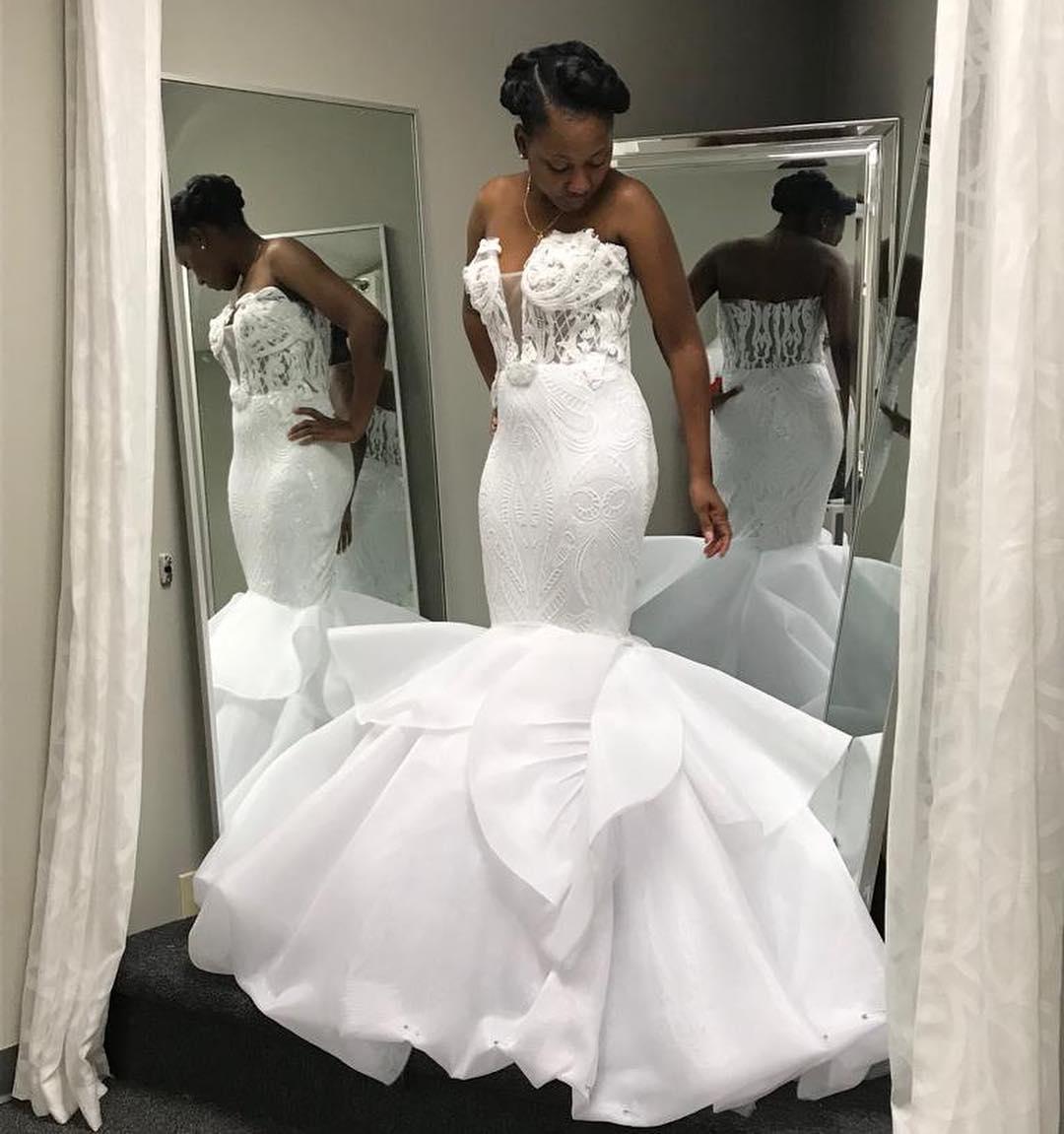 Viviane Valerius Black Haitian Bridal Wear Fashion Designer Florida