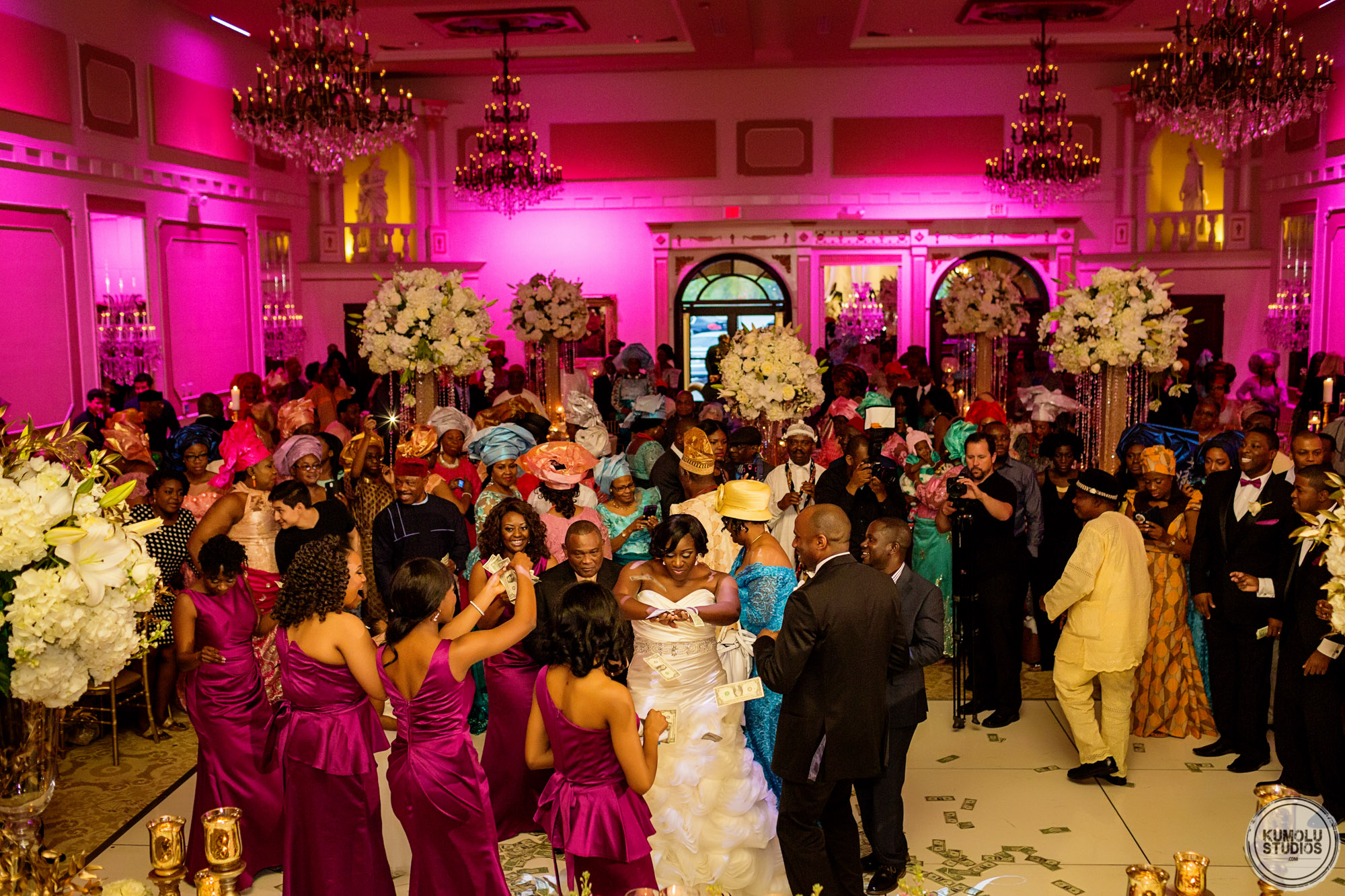 Creative Touch Events Décor and Wedding Planner in Raleigh North Carolina at a Nigerian Wedding