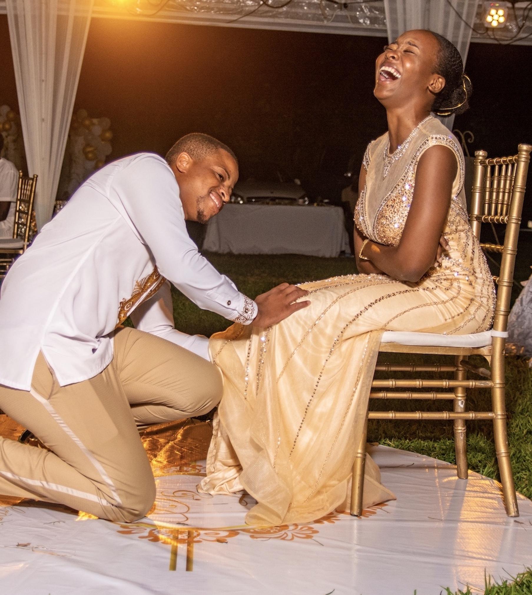 Debronique and Toni'sBeautiful Beach Wedding in Jamaica