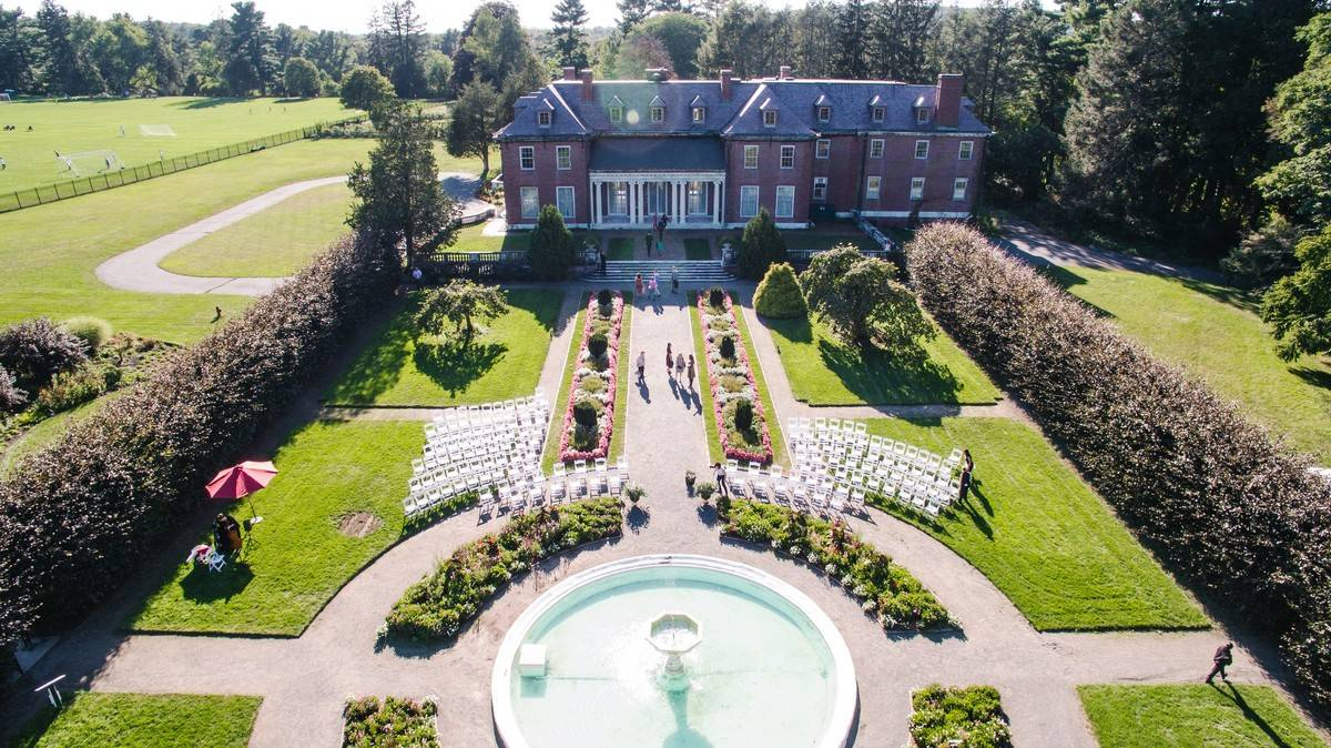 Elm Bank Horticulture Center Wedding Venue Massachusetts