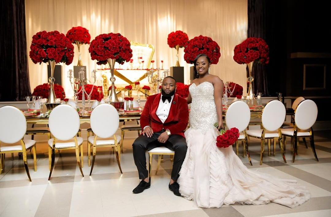 Jazmina & Therrell Tyus' Stylish Wedding in Montgomery AL