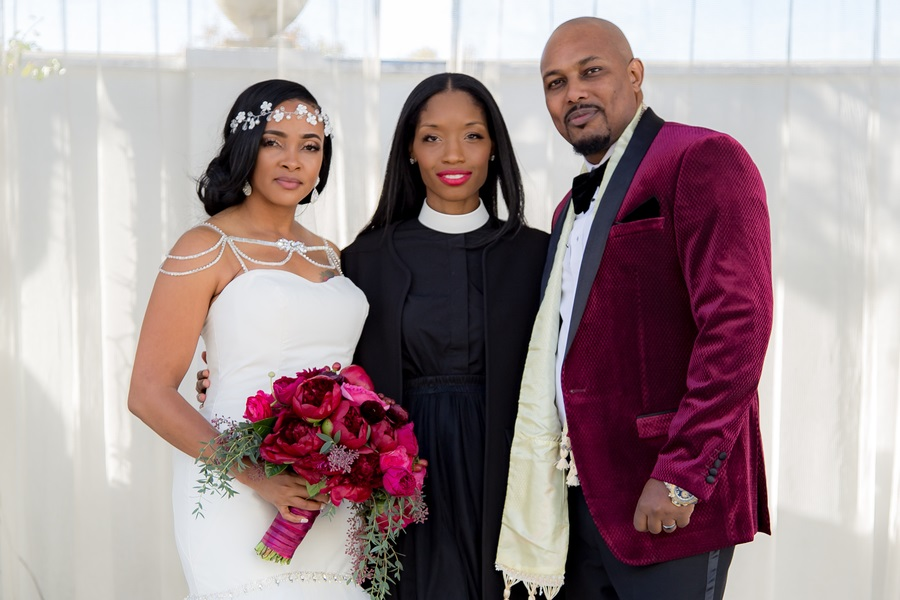 Married by Rev Roxy Wedding Officiant for Black Couples North America