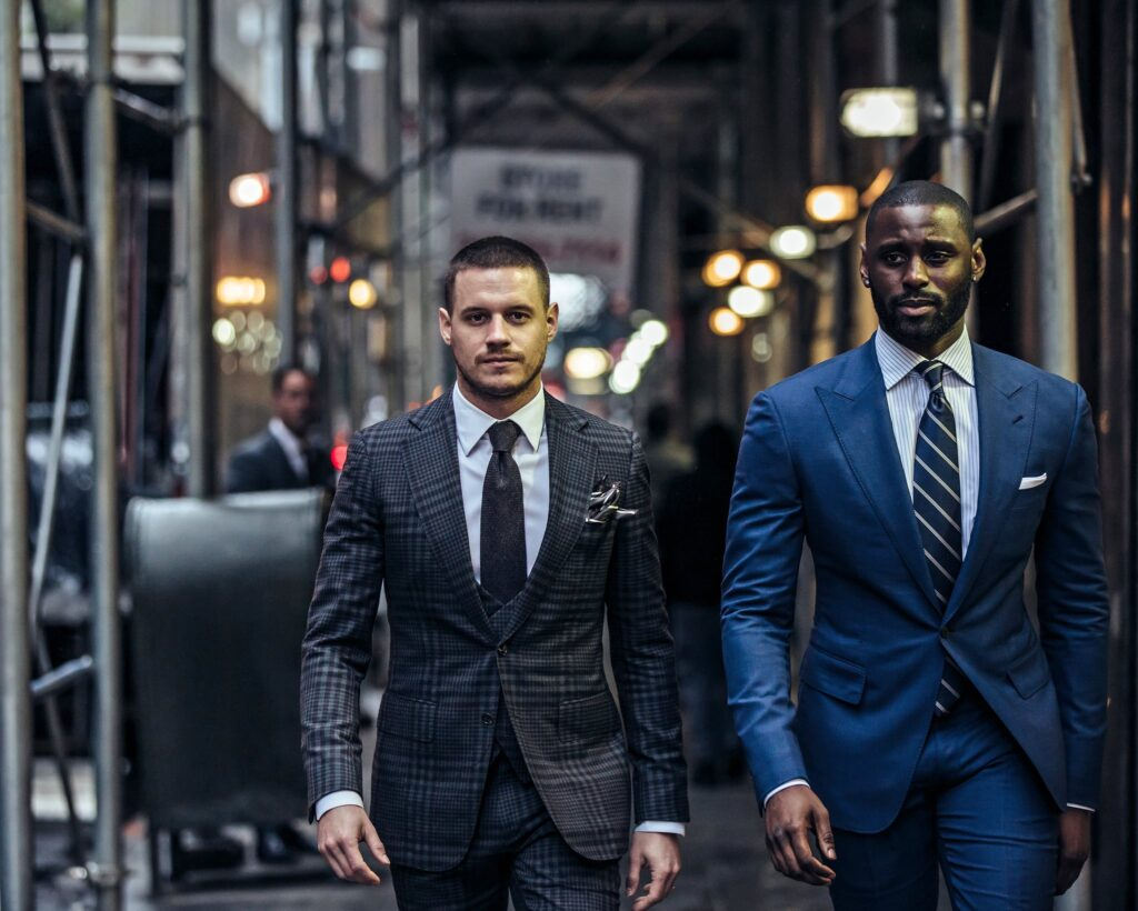 Musika Frere Bespoke Wedding Suits for Grooms and Groomsmen via My Afro Caribbean Wedding Planning Tools New York