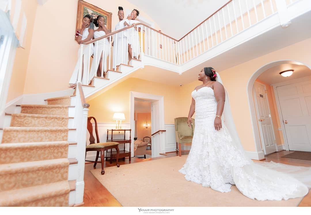 Yanair Black AfroCaribbean Wedding Photographer in Maryland