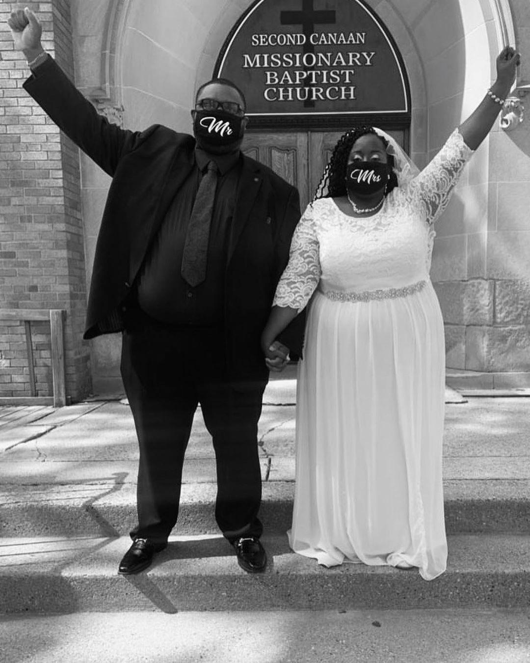5 Tips On Wedding Planning During COVID-19 Pandemic- Quarantine Wedding Black Couples
