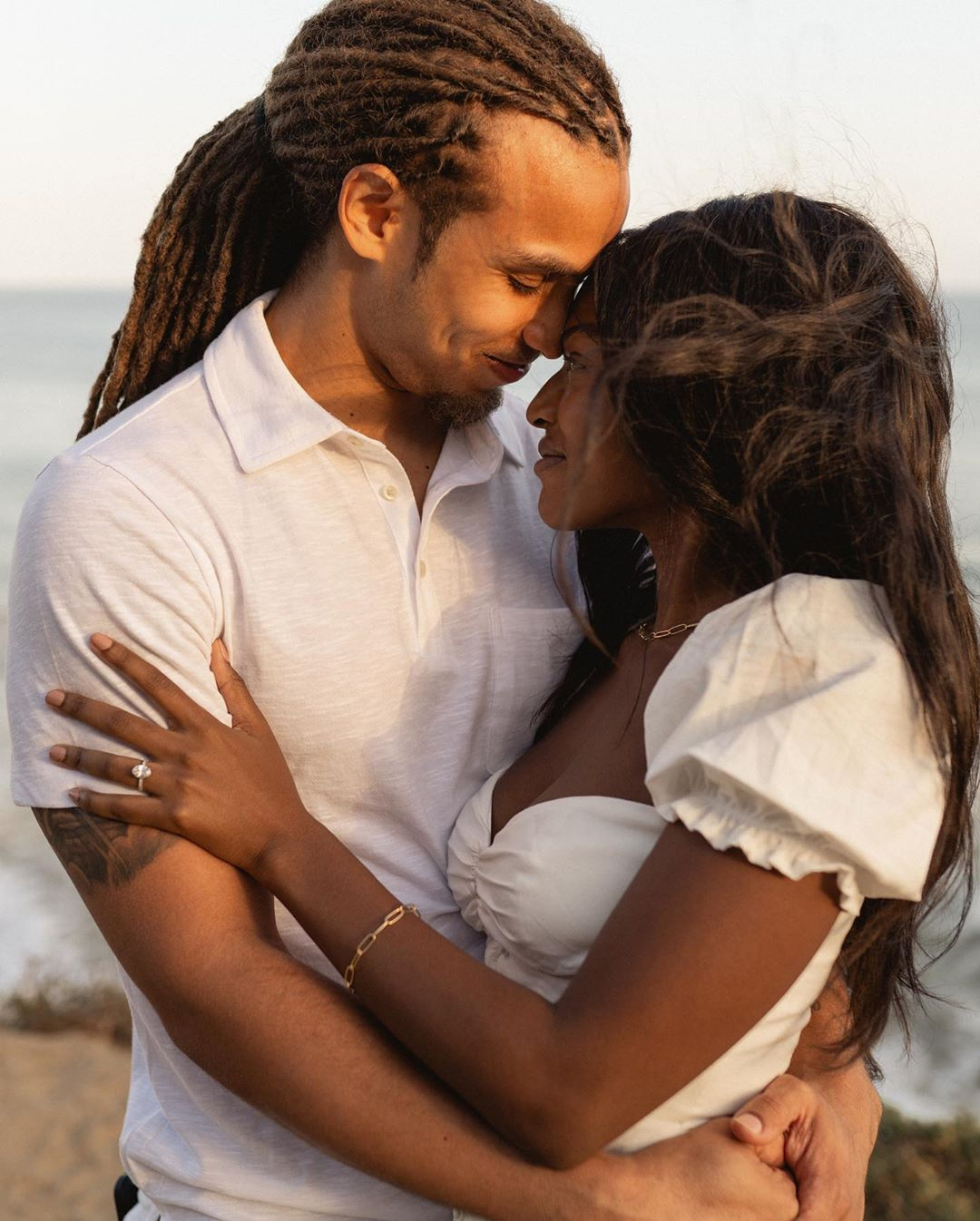 Are You the One? Stars Uche and Clinton Love Story and Seaside Proposal