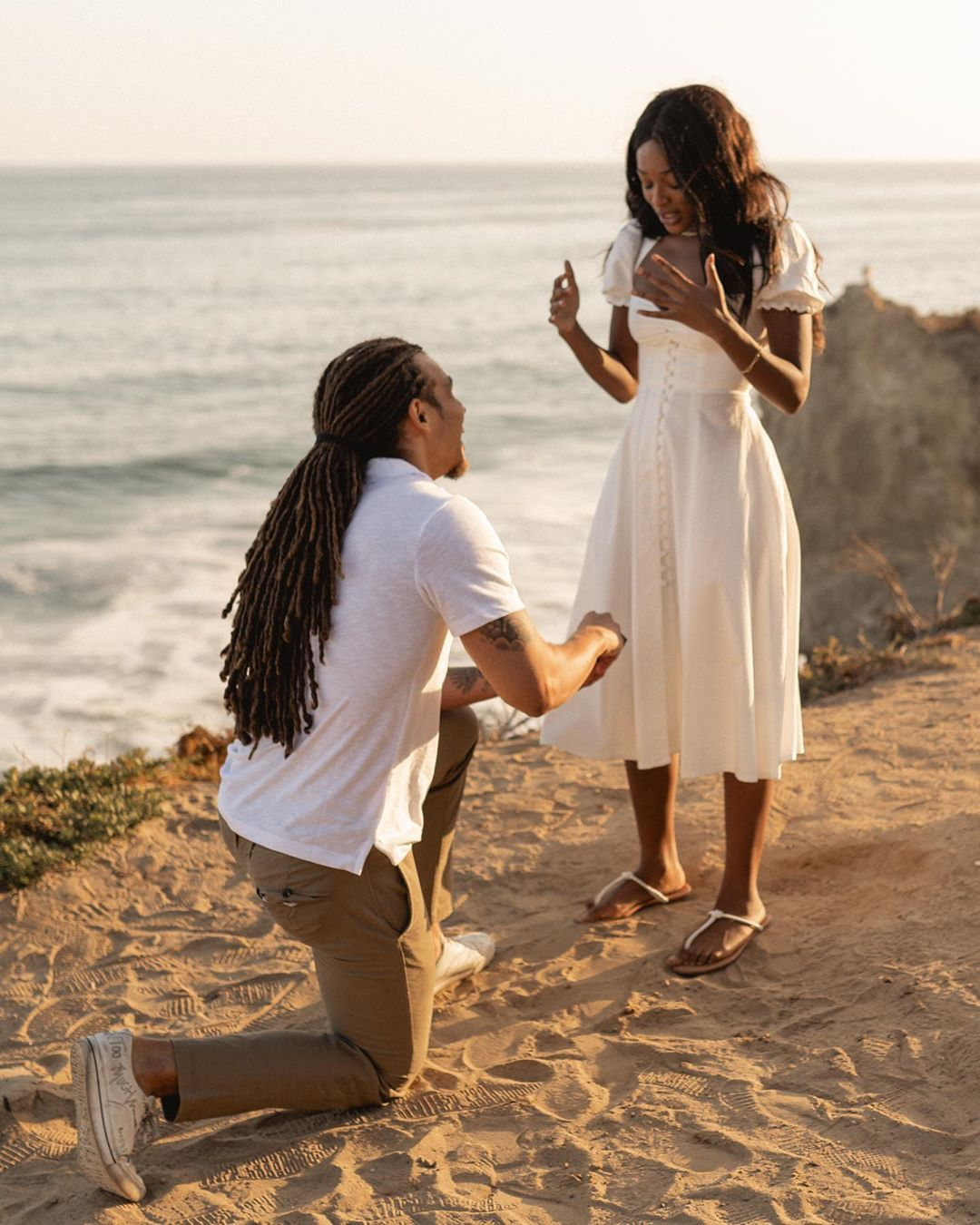 My Afro Caribbean Wedding Are You the One? Stars Clinton Moxam JM and NG Uche Nwosu Engaged Uche Clinton