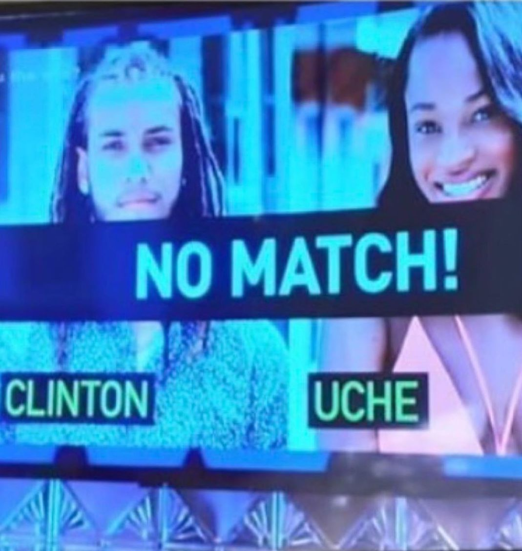 Uche and Clinton Were Not A Perfect Match On the Show