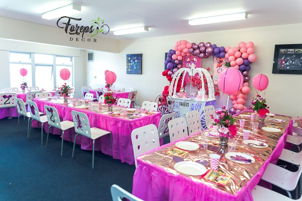Foreps Decor Events Styling and Wedding Decorator - Black Owned Birthday Party Decorating Company