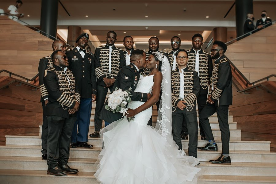 Guystave and Prisca Xavier's Beautiful Congolese Wedding 🇨🇩