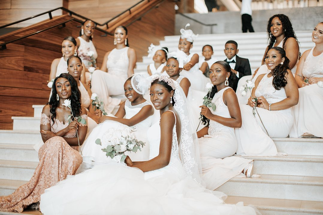 Guystave and Prisca Xavier's Beautiful Congolese Wedding