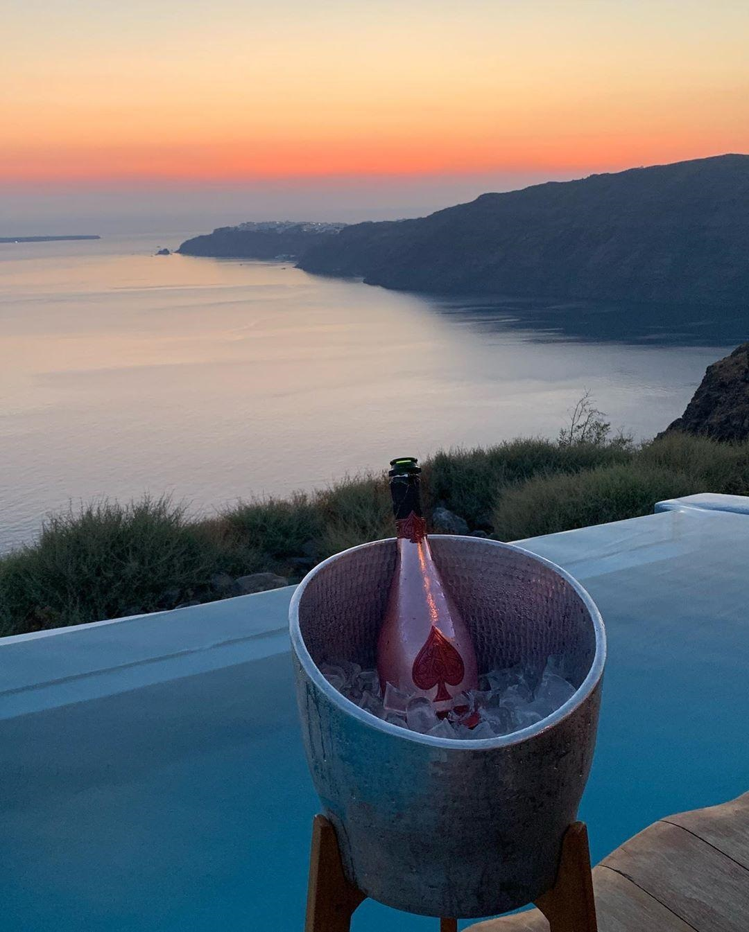 My Afro Caribbean Wedding Laura and Henry's Romantic Proposal in Santorini Greece Laura Henry