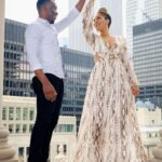 Taara and Michael Surprise Rooftop Proposal in Chicago